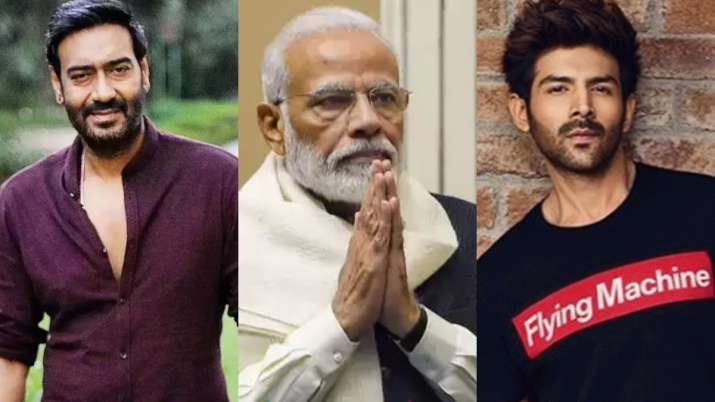 PM Modi lauds Ajay Devgn, Kartik Aaryan and others for donating to coronavirus relief fund