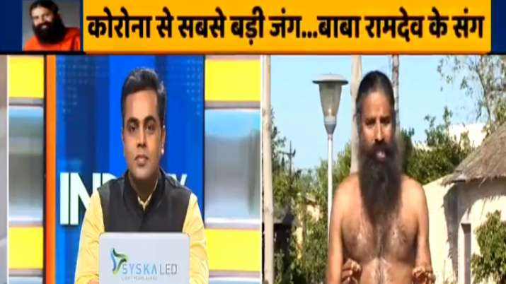 Baba Ramdev shows which yoga asanas are best for asthma, diabetes, blood pressure