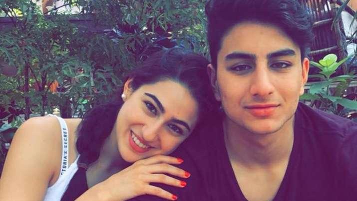 Sara Ali Khan shares throwback 'knock knock' joke video with brother Ibrahim
