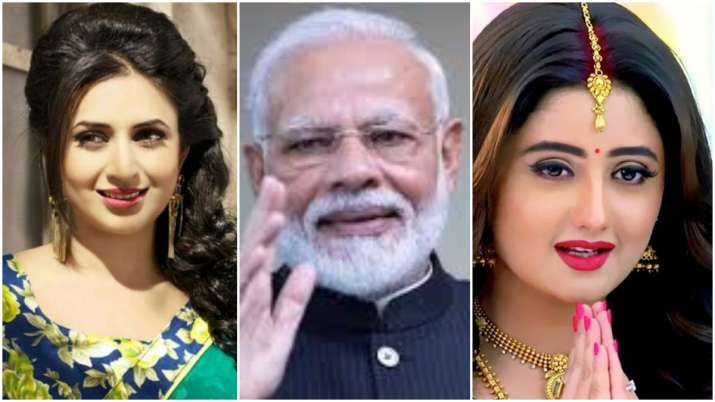 Covid-19: PM Modi lauds Rashami Desai, Divyanka Tripathi and other TV celebs for Fan Ka Fan initiati