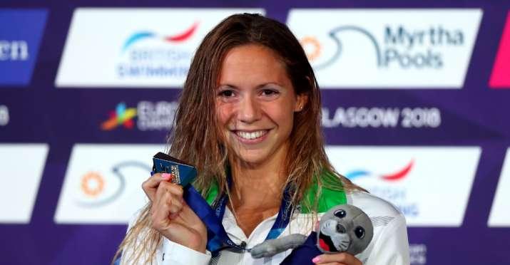 Hungarian swimming champion Kapas diagnosed with coronavirus