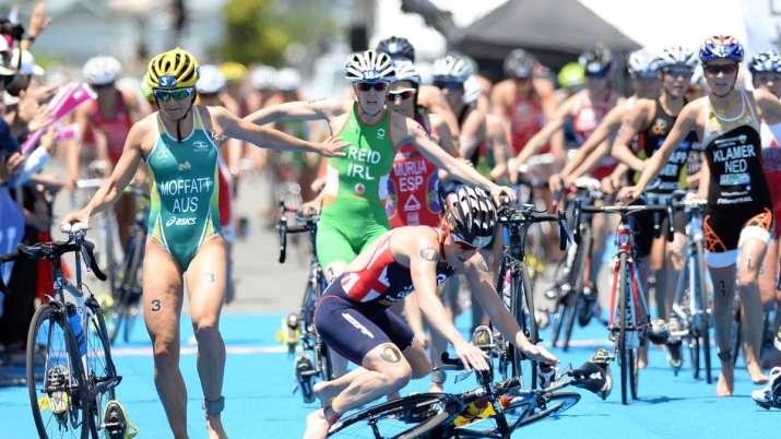 Yokohama triathlon event suspended due to coronavirus