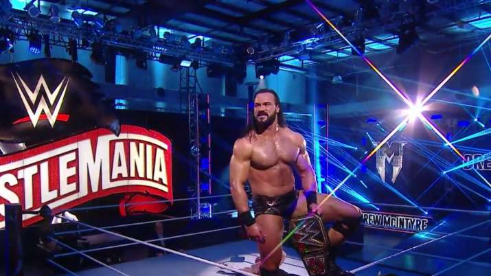 WWE Wrestlemania: Drew Mcintyre dethrones Brock Lesnar to become WWE Champion; Bray Wyatt outclasses John Cena