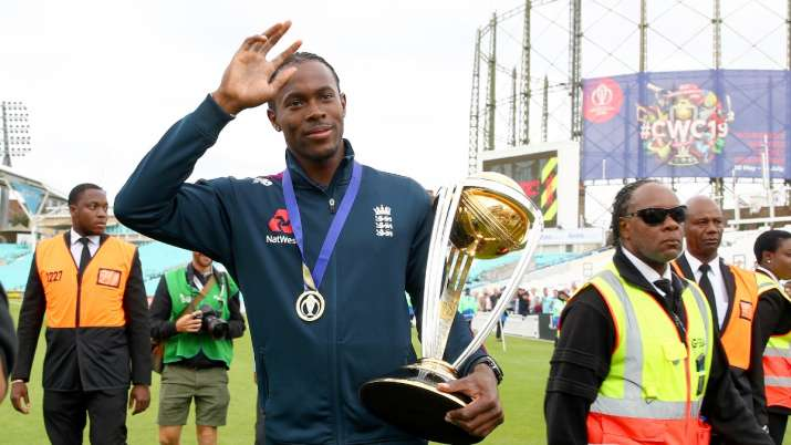 Jofra Archer searching for his World Cup winner's medal in isolation period