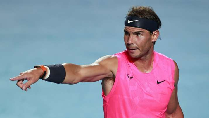 Watch Rafael Nadal Returns To Training After Lockdown Shares Footage From Practice Session Tennis News India Tv