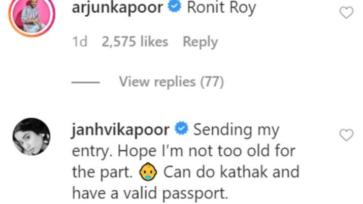 India Tv - Kartik Aaryan asks Janhvi Kapoor if she has Chinese visa as she applies for role in Baghbaan remake