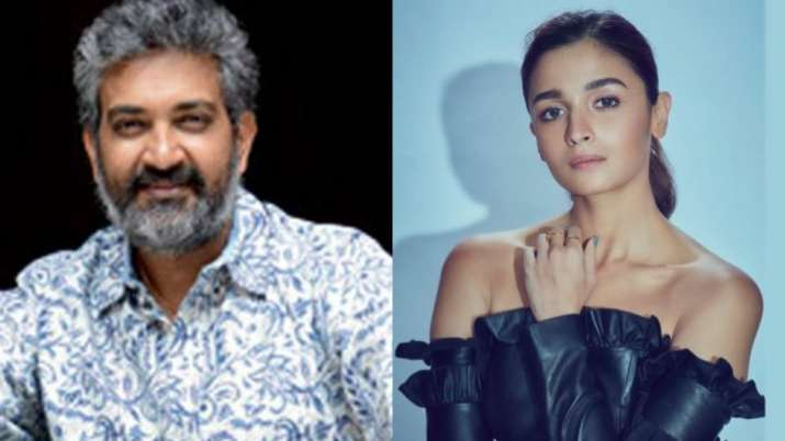 SS Rajamouli talked about roping in actress Alia Bhatt for RRR