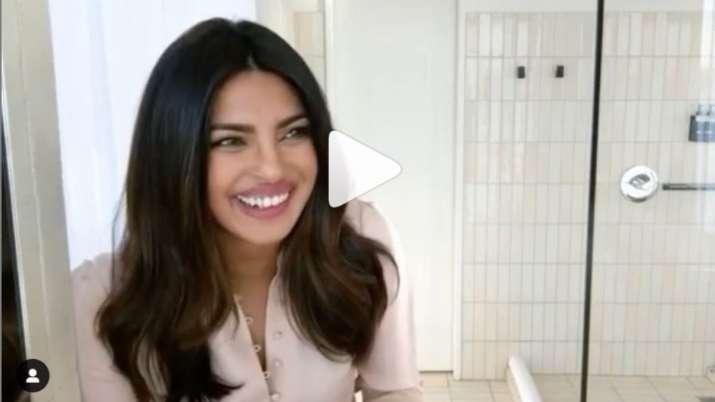 Priyanka Chopra shares DIY hairmask video on taking care of hair amid lockdown