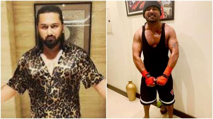 Yo Yo Honey Singh flaunts muscular toned look, see rapper's amazing body transformation (Pics)