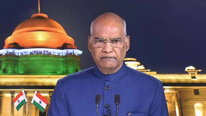 President Ram Nath Kovind today expressed concern over the gathering of migrant workers in Anand Vih