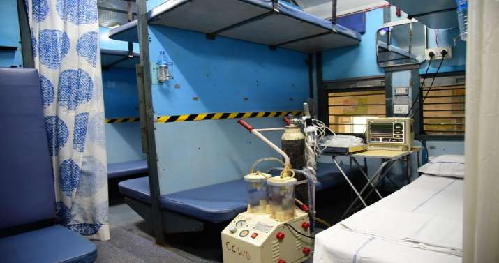 Over 300 rail coaches turn into 2,400 isolation wards