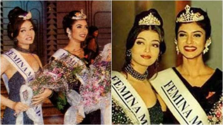 Sushmita Sen took back her Miss India paegent entry form when she heard about Aishwarya Rai taking p