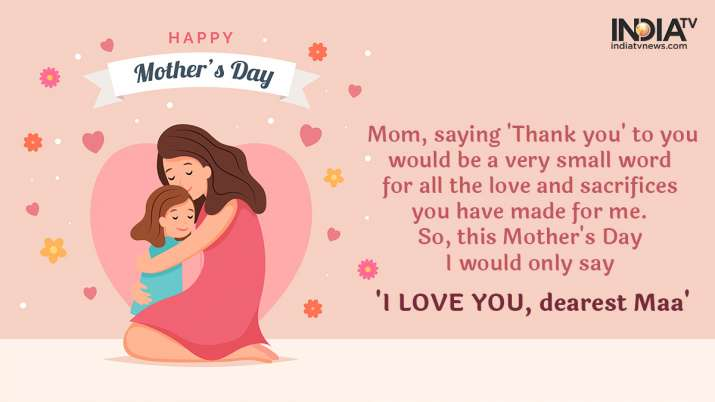 Happy Mother's Day 2020: Wishes, greetings, WhatsApp messages, Facebook  photos, HD images | Lifestyle News – India TV
