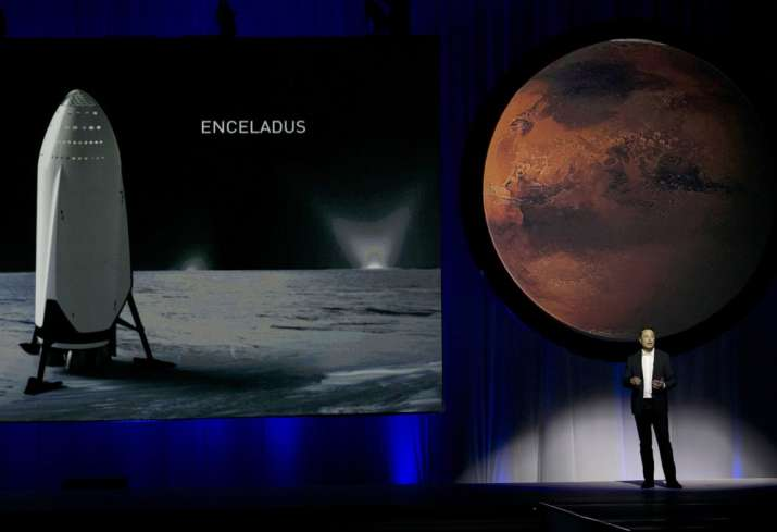 First commercial space taxi a pit stop on Musk's Mars