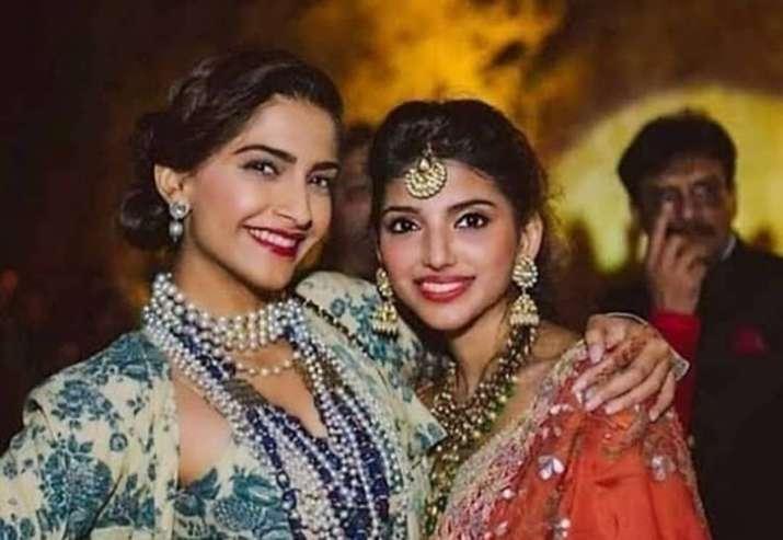 India Tv - Actor Rana Daggubati's beautiful fiance Miheeka Bajaj with Sonam Kapoor