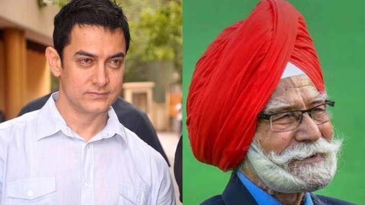 Aamir Khan condoles the death of Hockey legend Balbir Singh