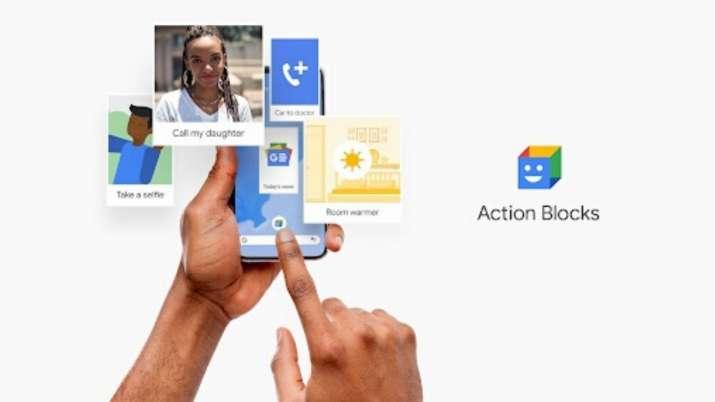 google, google apps, google action blocks app, google live transcribe app, google action blocks app
