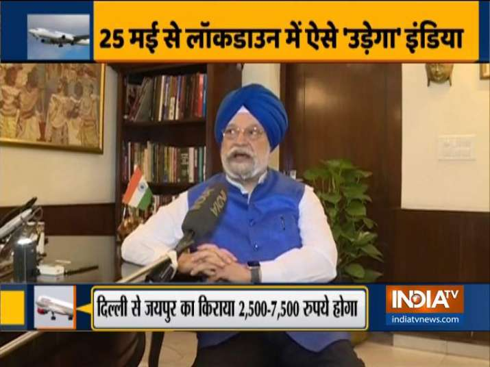 India TV Exclusive: Hardeep Puri shines light on the new 'normal' after domestic flights resume