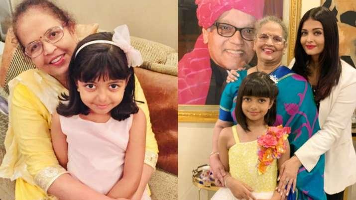 Aishwarya Rai Bachchan wishes mom Brindya Rai on birthday by sharing adorable photo with Aaradhya