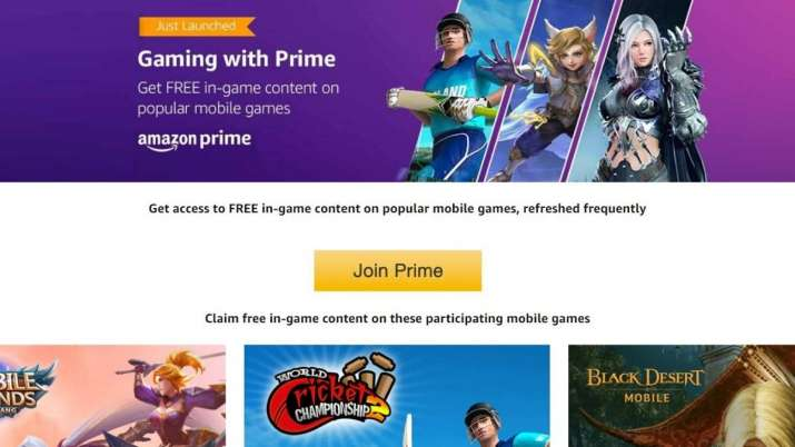 amazon, amazon prime, amazon prime members, amazon prime gaming, free gaming on amazon, tech news, a