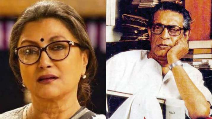 Aparna Sen pays tribute to legendary director Satyajit Ray by reciting verses of 'Gonf Churi.' Watch