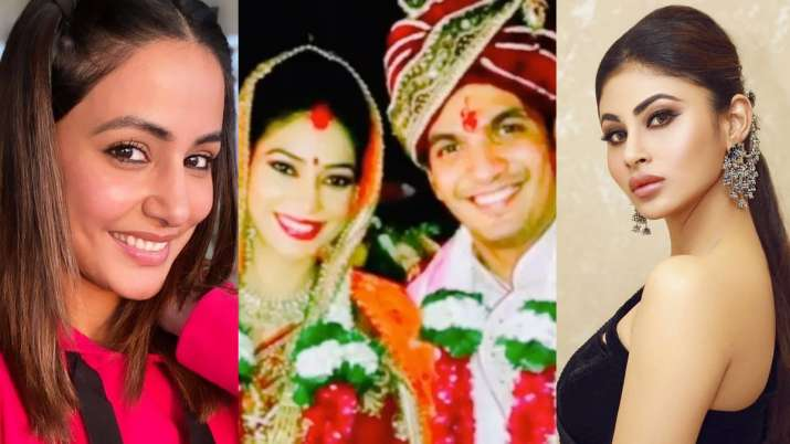 Naagin star Arjun Bijlani shares video on 7th marriage anniversary; Mouni Roy, Hina and others pour