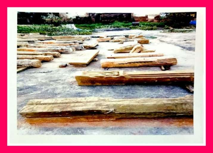 Ancient idols, shiv ling, found during Ram Mandir site