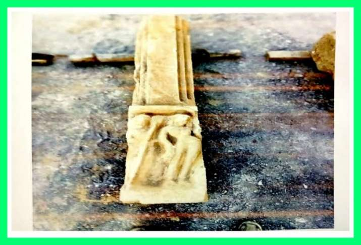 India Tv - Ancient idols, shiv ling, found during Ram Mandir site excavation in Ayodhya