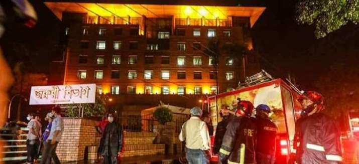 Bangladesh hospital fire