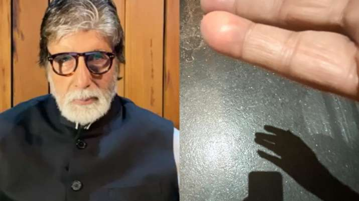 Amitabh Bachchan shares an incident when he blew off his hand with a Diwali cracker