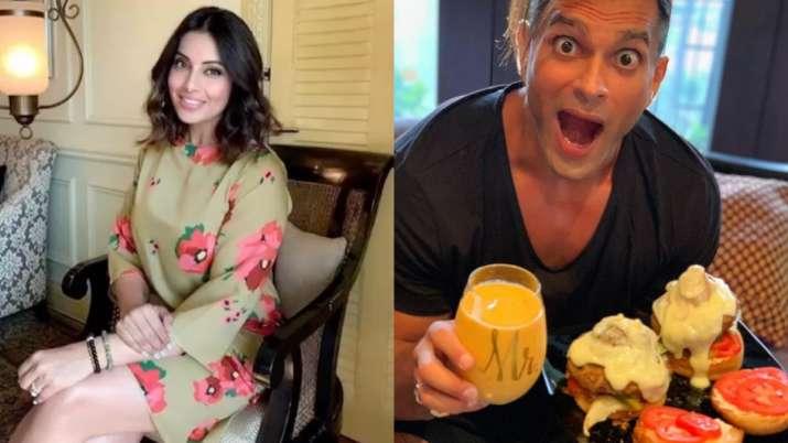 Bipasha Basu turns chef for husband Karan Singh Grover amid lockdown