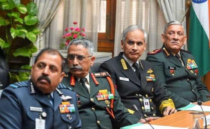 CDS Bipin Rawat, three service chiefs to address press