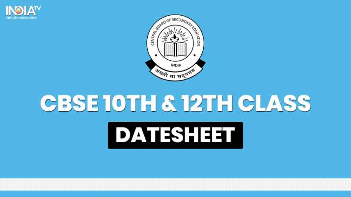 CBSE Board 2020: How to check datesheet for pending Class 10 & 12 exams