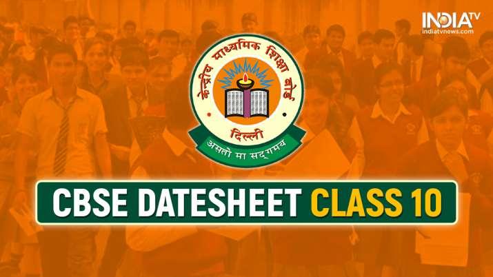 CBSE Board Exam 2020: CBSE Class 10 datesheet announced: