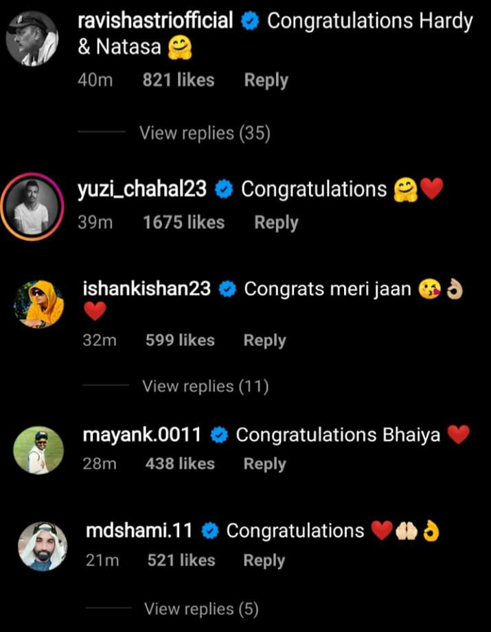 India Tv - Cricket fraternity congratulates Hardik Pandya.