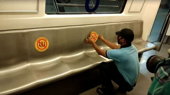 With spitting fee hiked, sanitiser dispensers, Delhi Metro expected to resume services soon