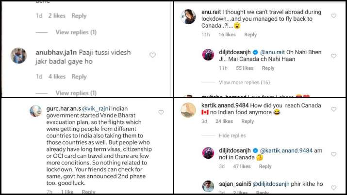 India Tv - Comments on Diljit Dosanjh's post