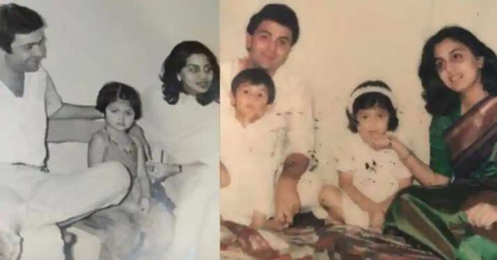 India Tv - Rishi Kapoor's throwback photos shared by Riddhima