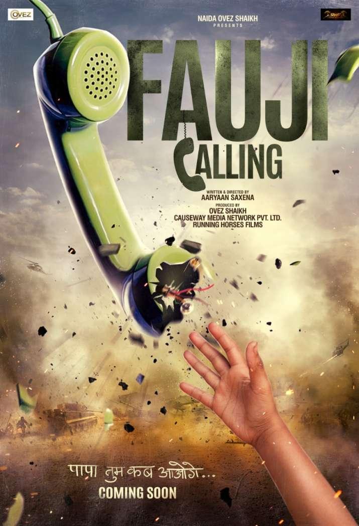 India Tv - 'Fauji Calling' poster