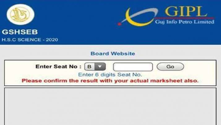 GSEB HSC Result 2020: Gujarat Board GSEB Class 12th Science result declared