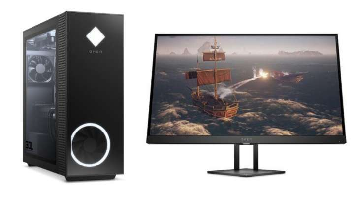 hp, hp desktops, hp monitors, hp omen desktops, hp gaming desktop, gaming desktop, hp gaming, tech n