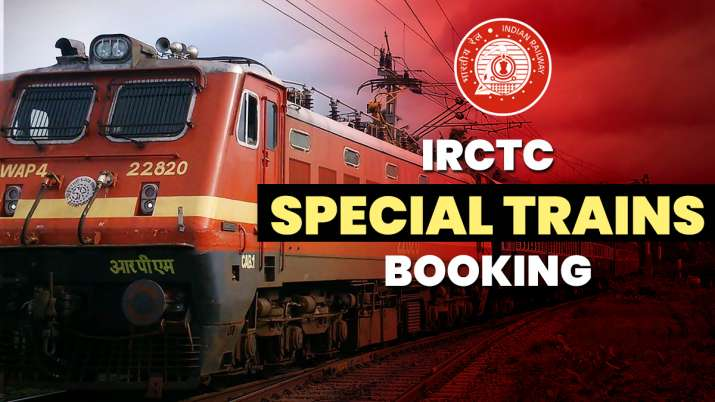 IRCTC Special Train Online Booking: Here're special trains