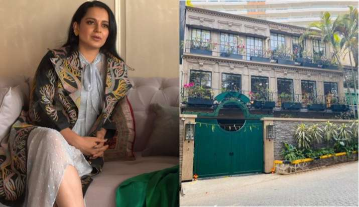 Kangana Ranaut's Pali Hill office is truly stunning. Check out BTS video |  Entertainment News – India TV