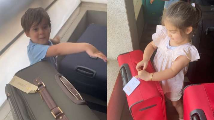 Karan Johar's kids Yash, Roohi wanting to go to the airport is basically all of us right now. Watch