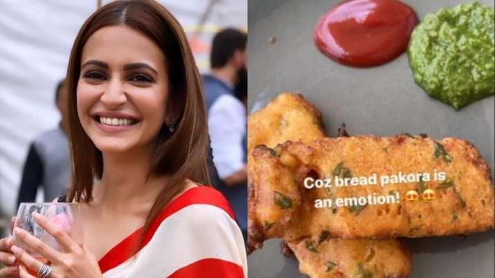 For Kriti Kharbanda 'bread pakoda' is an emotion