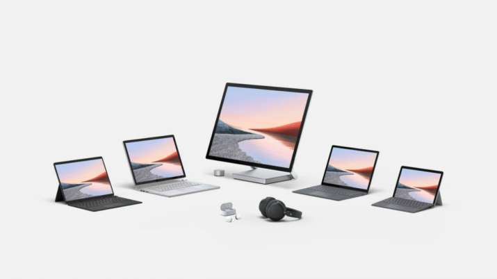 microsoft, surface go 2, surface book 3, surface headphones 2, surface earbuds, surface dock 2, surf