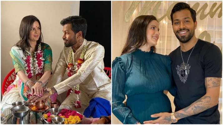 From Getting Engaged To Announcing Pregnancy Natasa Stankovic And Hardik Pandya S Love Story In Pics Entertainment News India Tv