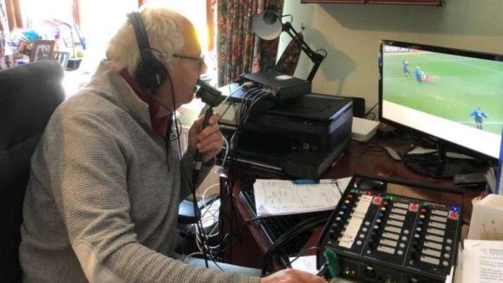 BT Sport commentator Ian Darke