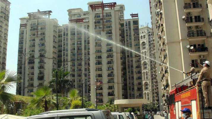 COVID-19 sealing norms upset resident of Noida high-rises