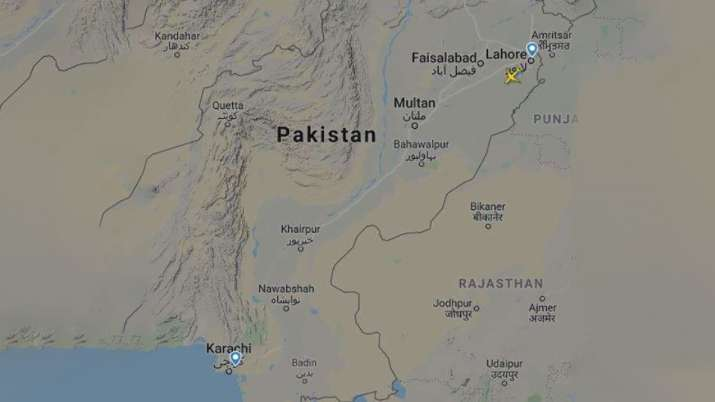 pakistan air crash, pakistan plane crash, landing aborted, Flightradar24 data, Flightradar24 data on